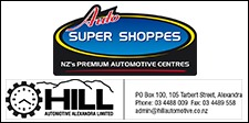 Hill Automotive, Alexandra