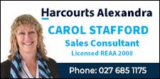 Carol Stafford - Harcourts Alexandra